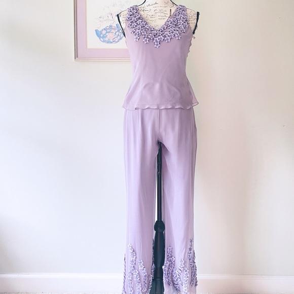Sue Wong dressy vintage pant set